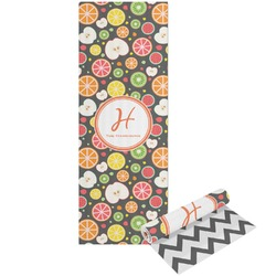 Apples & Oranges Yoga Mat - Printable Front and Back (Personalized)