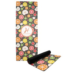 Apples & Oranges Yoga Mat (Personalized)