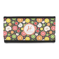 Apples & Oranges Leatherette Ladies Wallet (Personalized)