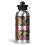 Birds & Butterflies Water Bottle - Aluminum - 20 oz (Personalized)