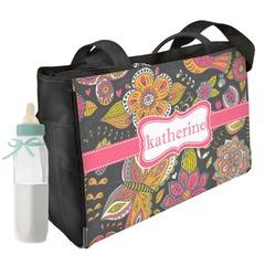 Birds & Butterflies Diaper Bag (Personalized)