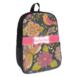 Birds & Butterflies Kids Backpack (Personalized)