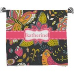 Birds & Butterflies Bath Towel (Personalized)