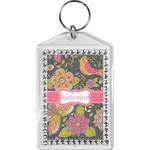 Birds & Butterflies Bling Keychain (Personalized)