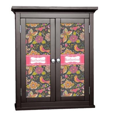 Birds & Butterflies Cabinet Decal - Custom Size (Personalized)