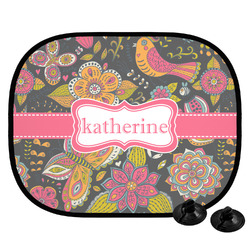 Birds & Butterflies Car Side Window Sun Shade (Personalized)