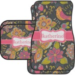 Birds & Butterflies Car Floor Mats (Personalized)