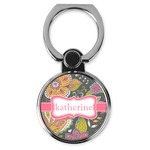 Birds & Butterflies Cell Phone Ring Stand & Holder (Personalized)