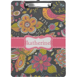 Birds & Butterflies Clipboard (Personalized)