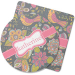 Birds & Butterflies Rubber Backed Coaster (Personalized)