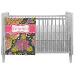 Birds & Butterflies Crib Comforter / Quilt (Personalized)
