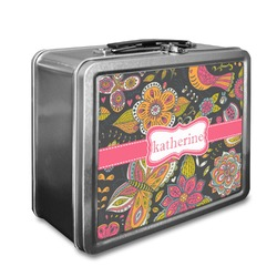 Birds & Butterflies Lunch Box (Personalized)