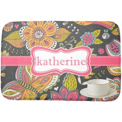 Birds & Butterflies Dish Drying Mat (Personalized)