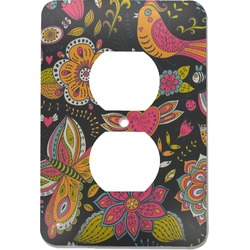 Birds & Butterflies Electric Outlet Plate (Personalized)