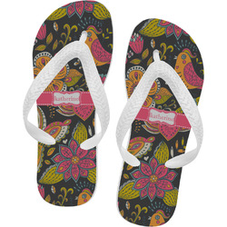 Birds & Butterflies Flip Flops (Personalized)