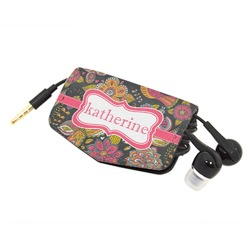 Birds & Butterflies Genuine Leather Cord Wrap (Personalized)