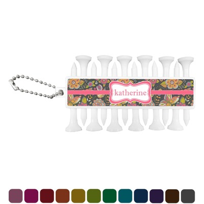 Birds & Butterflies Golf Tees & Ball Markers Set (Personalized)