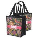 Birds & Butterflies Grocery Bag (Personalized)