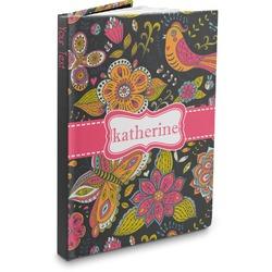 Birds & Butterflies Hardbound Journal (Personalized)