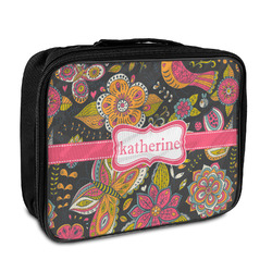 Birds & Butterflies Insulated Lunch Bag (Personalized)