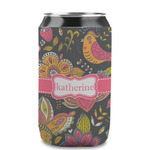 Birds & Butterflies Can Sleeve (12 oz) (Personalized)