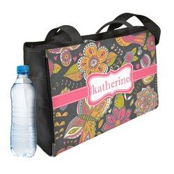 Birds & Butterflies Ladies Workout Bag (Personalized)