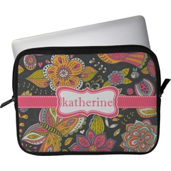 """Birds & Butterflies Laptop Sleeve / Case - 13"""" (Personalized)"""