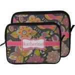 Birds & Butterflies Laptop Sleeve / Case (Personalized)