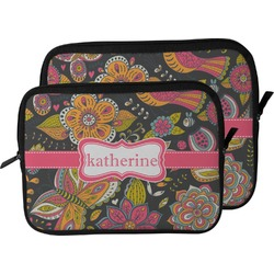 Birds & Butterflies Laptop Sleeve / Case (Personalized)