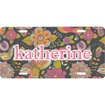 Birds & Butterflies Front License Plate (Personalized)