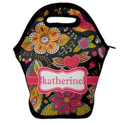 Birds & Butterflies Lunch Bag w/ Name or Text