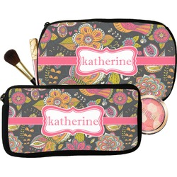 Birds & Butterflies Makeup / Cosmetic Bag (Personalized)