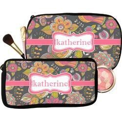 Birds & Butterflies Makeup / Cosmetic Bag (Personalized)