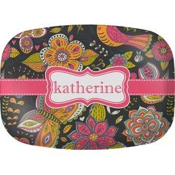 Birds & Butterflies Melamine Platter (Personalized)
