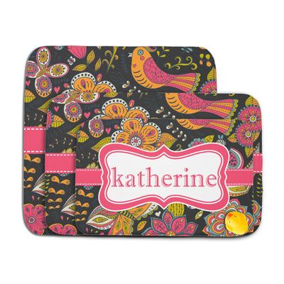 Birds & Butterflies Memory Foam Bath Mat (Personalized)
