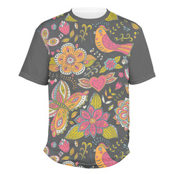 Birds & Butterflies Men's Crew T-Shirt (Personalized)