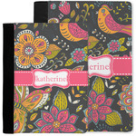 Birds & Butterflies Notebook Padfolio w/ Name or Text