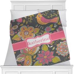 Birds & Butterflies Blanket (Personalized)