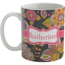 Birds & Butterflies Coffee Mug (Personalized)