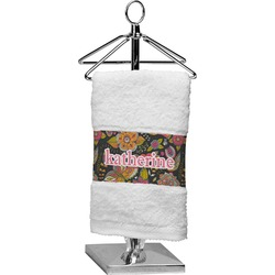Birds & Butterflies Cotton Finger Tip Towel (Personalized)
