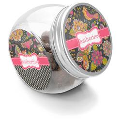 Birds & Butterflies Puppy Treat Jar (Personalized)