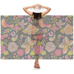Birds & Butterflies Sheer Sarong (Personalized)