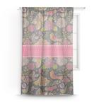 Birds & Butterflies Sheer Curtains (Personalized)