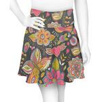 Birds & Butterflies Skater Skirt (Personalized)