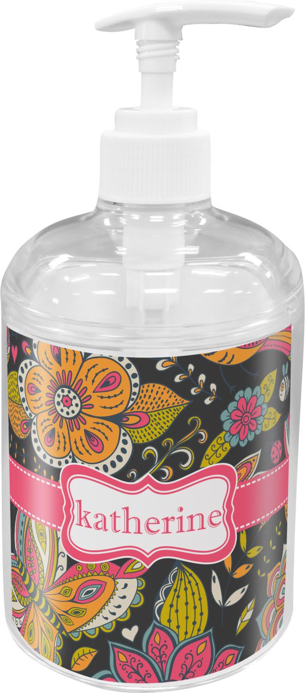 Birds & Butterflies Soap / Lotion Dispenser (Personalized ...