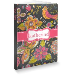 Birds & Butterflies Softbound Notebook (Personalized)