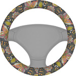 Birds & Butterflies Steering Wheel Cover (Personalized)