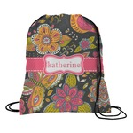 Birds & Butterflies Drawstring Backpack (Personalized)