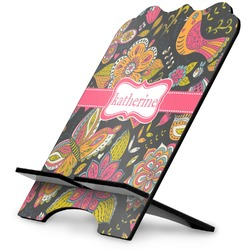 Birds & Butterflies Stylized Tablet Stand (Personalized)
