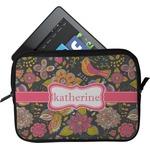 Birds & Butterflies Tablet Case / Sleeve (Personalized)
